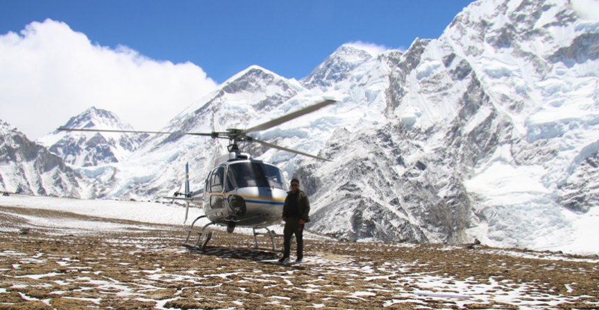 Amazing trek to Namche (Everest region ) and Exploring EBC on Private Helicopter