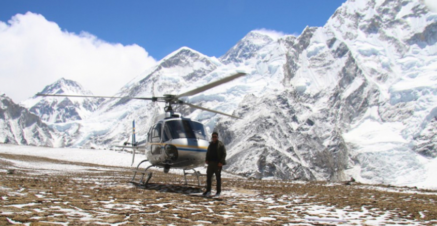 Amazing Everest Base Camp Trek and Helicopter Ride to Lukla
