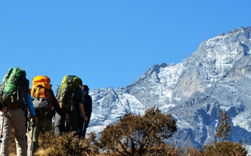 12 Days for Good Level of Fitness Trekking and Overnight Rafting Package
