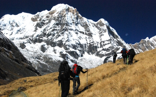 Beautiful Annapurna Base Camp Trek